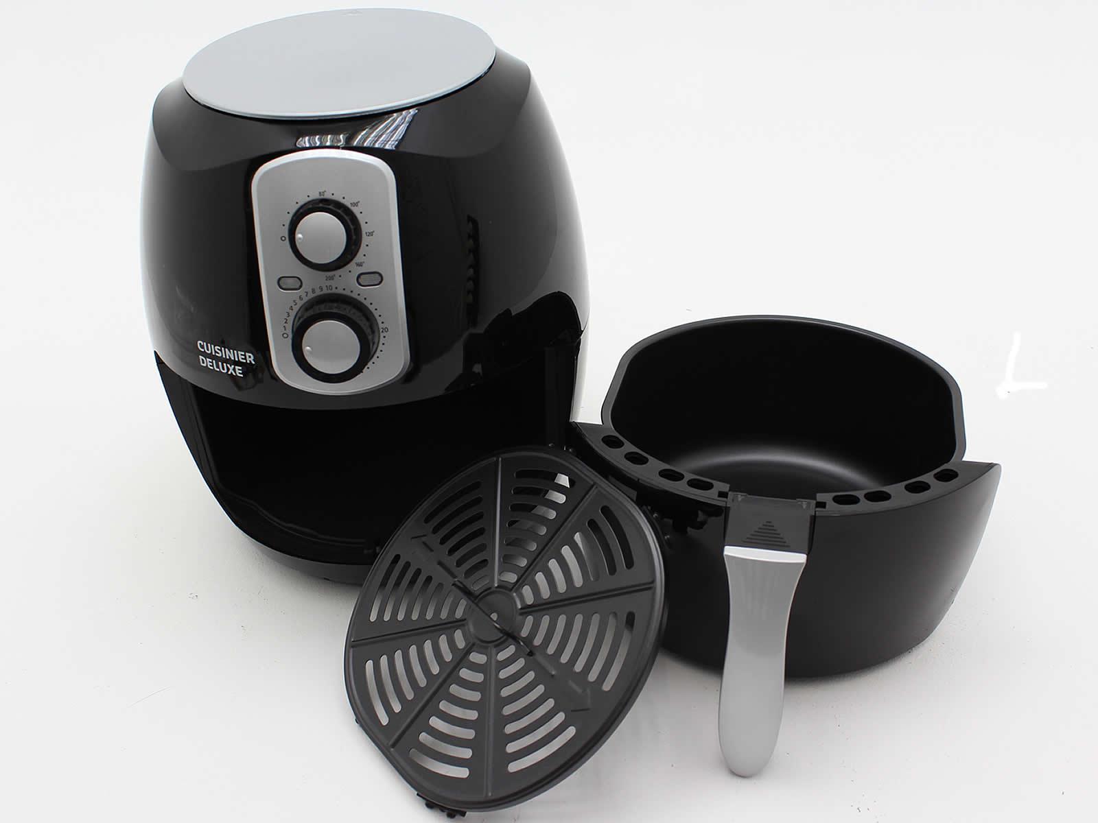 Heißluft Fritteuse Fettfrei Ofen Heißluftfriteuse 3,6L Grill Heißluftofen Ölfrei