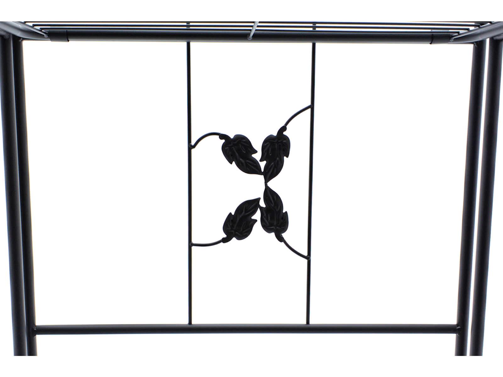 Pflanzenregal Metall Blumenbank Pflanzentreppe Garten Balkon Regal stabil