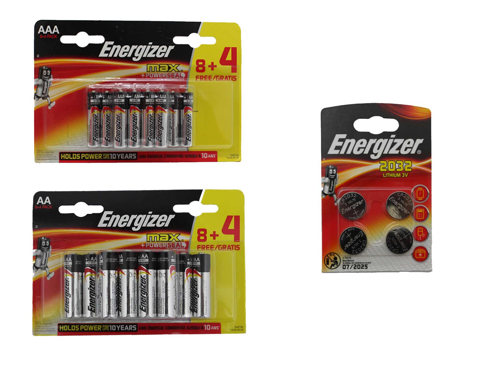 energizer batterie aaa aa 1 5v cr2032 knopfzellen lr03 lr6. Black Bedroom Furniture Sets. Home Design Ideas