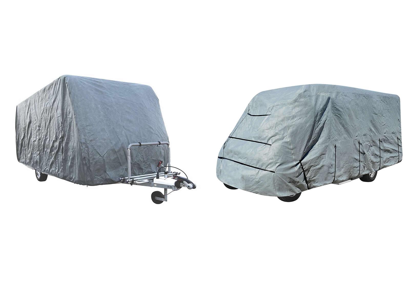 Details zu Wohwagen Wohnmobil Schutzhülle Caravan Ganzgarage  unterschiedliche Größen 9-lag